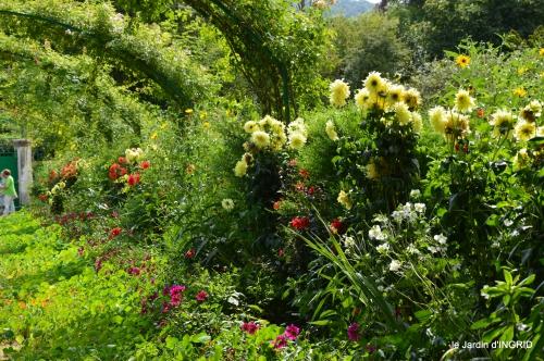 bouquet,jardin de Monet,les vaches,Pourville sur mer 044.JPG