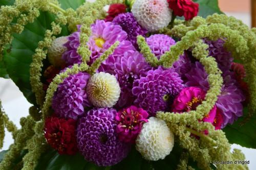 tournesols,pt jardin,nénuphard,libellules,lavande bouquet,carava 124.JPG