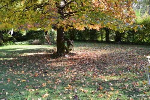 jardin automne,Arya avec Nicky 106.JPG