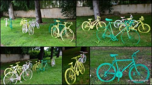 2014-07-11 décos vélos Bergerac,Mne Peyrichou,tournesols,passerelle Lalinde.jpg