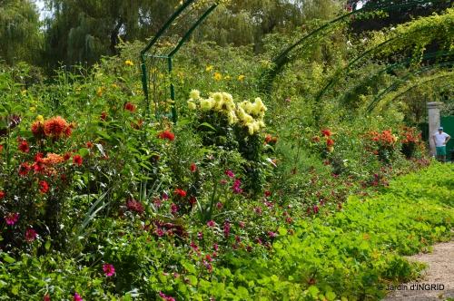 bouquet,jardin de Monet,les vaches,Pourville sur mer 043.JPG