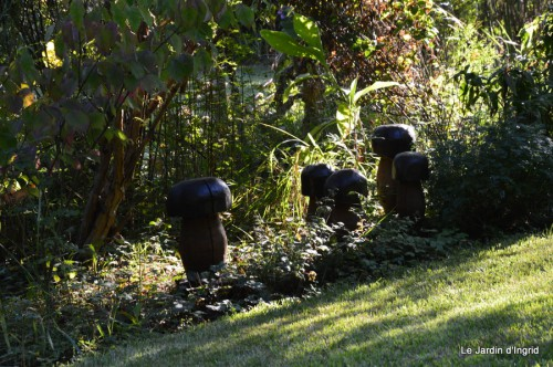 jardin,asters,fleurs blanches,chatte,rosiers roses 080.JPG