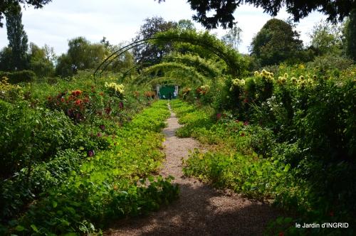 bouquet,jardin de Monet,les vaches,Pourville sur mer 042.JPG