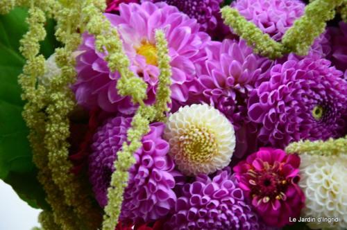 tournesols,pt jardin,nénuphard,libellules,lavande bouquet,carava 123.JPG