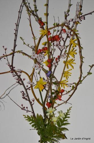 jonquilles,tableau d'ambience,champignons,gouttes d'eau 057.JPG