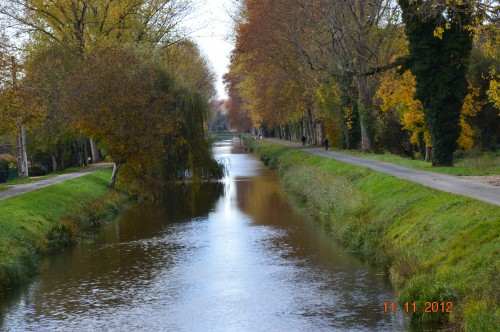 le canal,le banc