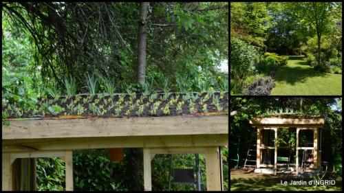 2014-05-03 roses,Lalinde,toit cabane,pourpre,eglise,jardin tondue1.JPG