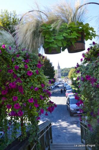 Lalinde passerelle,bouquet,jardin septembre 006.JPG