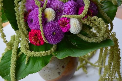 tournesols,pt jardin,nénuphard,libellules,lavande bouquet,carava 117.JPG