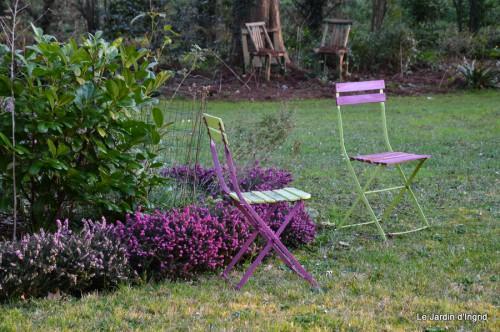 jonquilles,aubriétia,pervenche,primevères,lamier,crocus,violettes,cognassier du japon,euphorbe myrsinittes,prunus sauvage