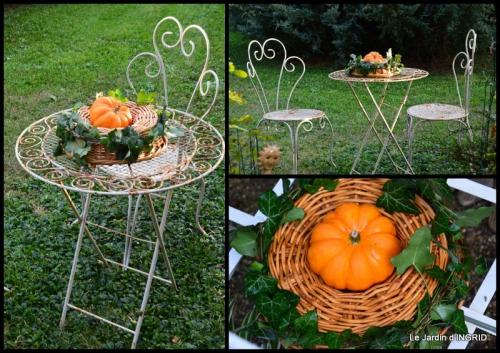 2015-10-16 marché Issigeac,decos citrouilles,jardin automne,compo dahlias1.jpg
