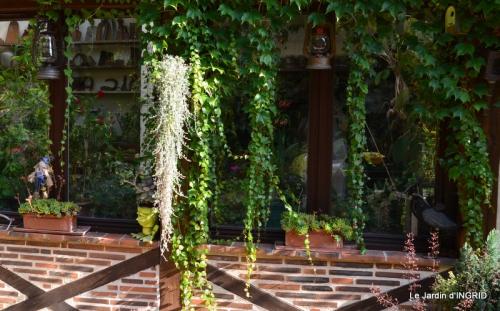 dahlias,jardin,puces st Avit Seigneur,Paniers Issigeac,Romane 066.JPG