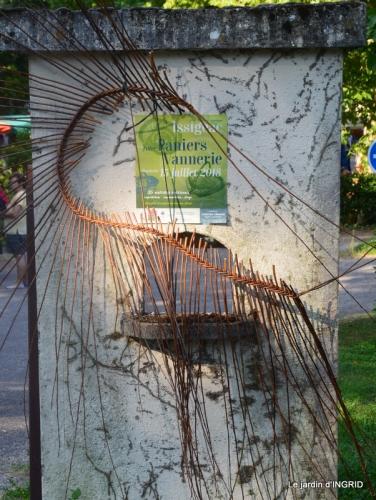Issigeac paniers,visite Brigitte Mathis,jardin 001.JPG