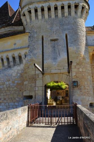 jardin du chateau de Banes