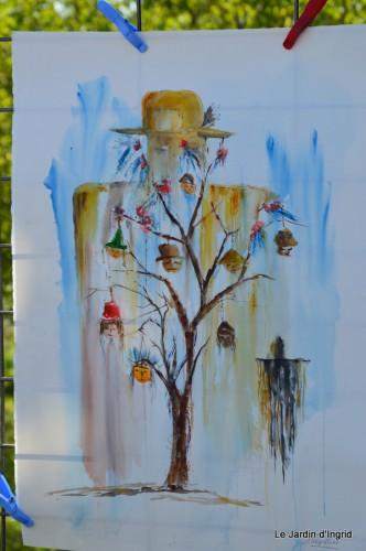 jardin,butineurs,Meyrals,tableau mongolfière 122.JPG