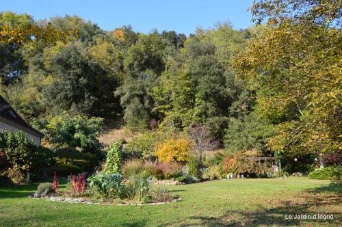 jardin automne,Arya avec Nicky 111-001.JPG